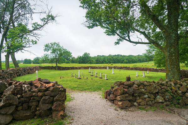 Cemetery at George Washington Carver National Monument