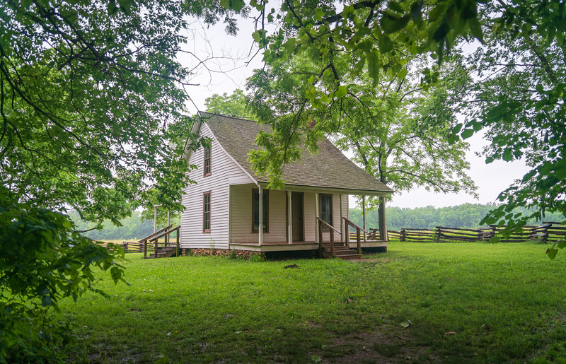 George Washington Carver's Childhood Home at his National Monument