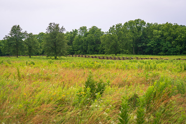 Fence at Wilson's Creek National Battlefield