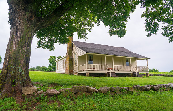 Ray House at Wilson's Creek National Battlefield