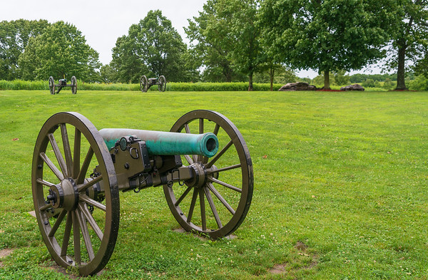 Three Cannons at Wilson's Creek National Battlefield