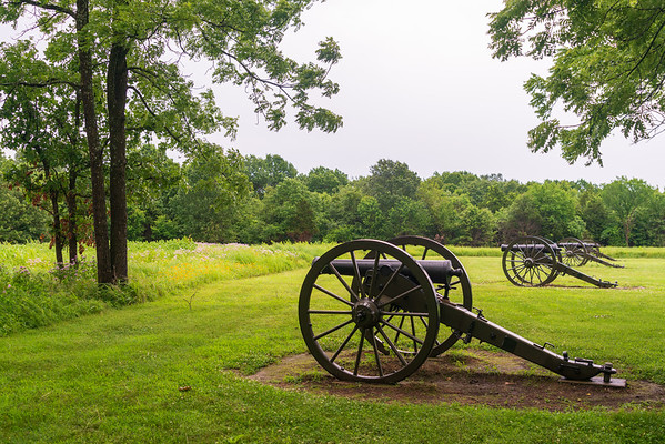 Four Cannons at Wilson's Creek National Battlefield