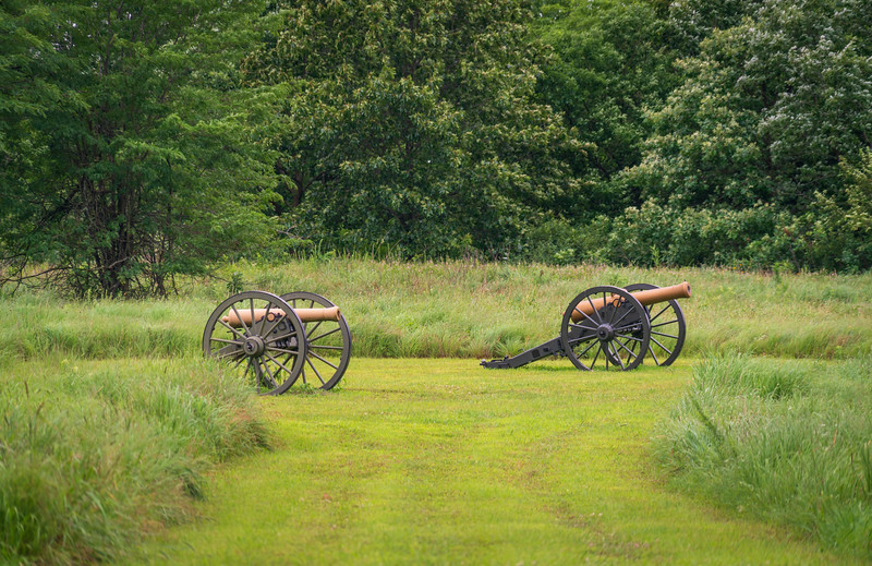 Two Cannons at Wilson's Creek National Battlefield