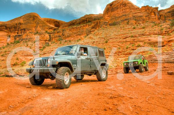 Moab 4 Wheeling HDR