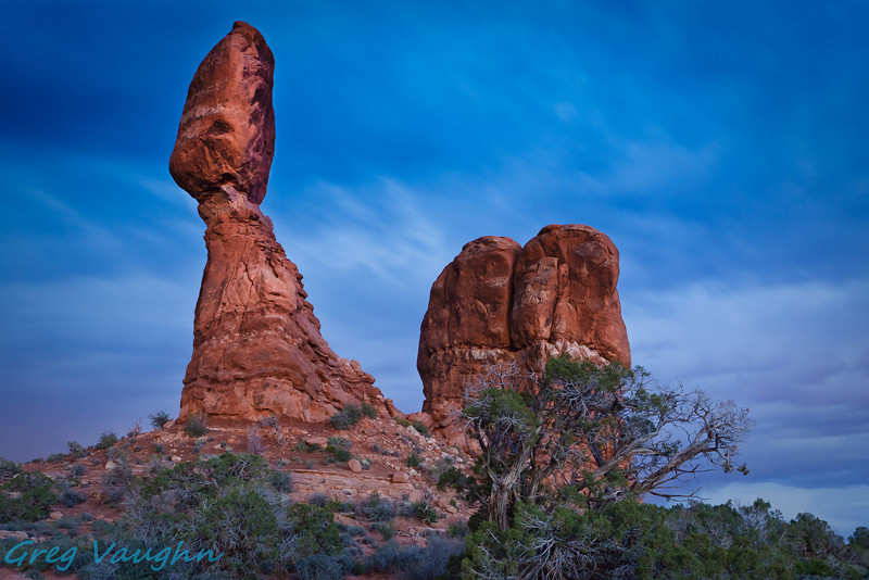 Balanced Rock at Arches NP, Utah