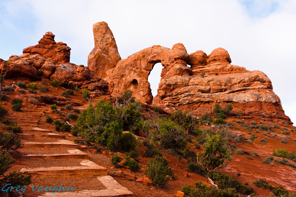 Turrent Arch at Arches NP, Utah