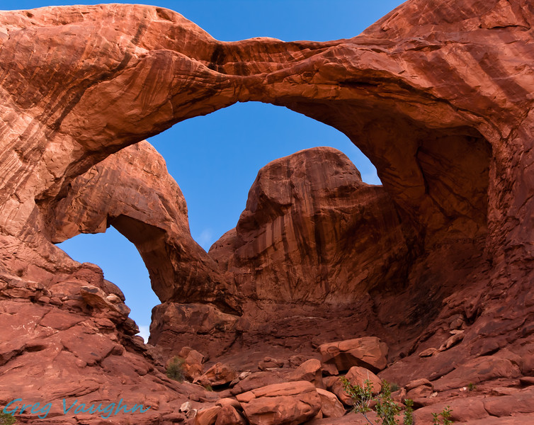 Double Arch at Arches NP, Utah