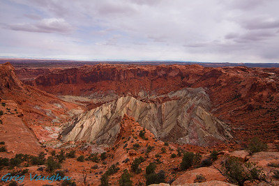 Upheaval Dome at Canyonlands NP, Utah
