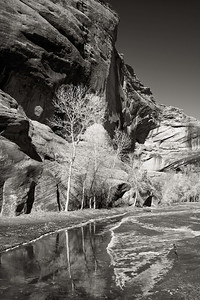Rim Ice - Canyon De Chelly, AZ