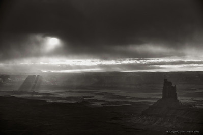 Clearing Winter Storm - Green River Overlook, Canyonlands N.P.