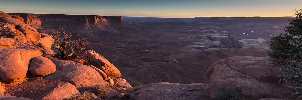 Canyonlands National Park - Green River Overlook.
