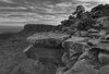 Canyonlands Overlook BW