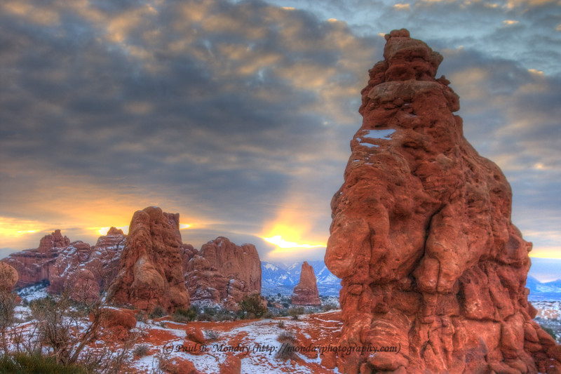 Morning in Arches National Park