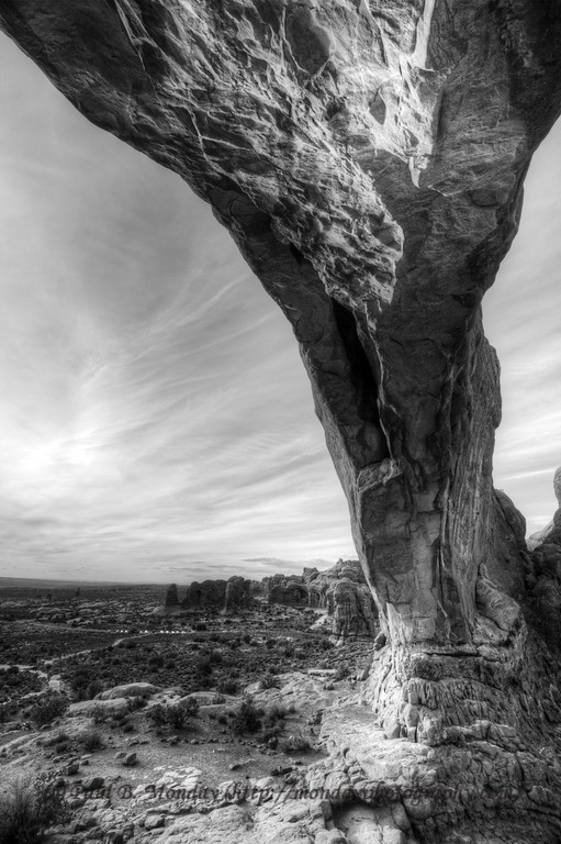Rock Tornado - Arches National Park