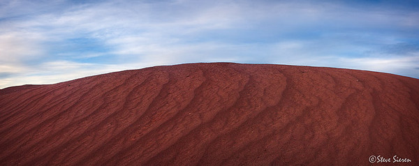 Red Volcanic Cinder Dunes