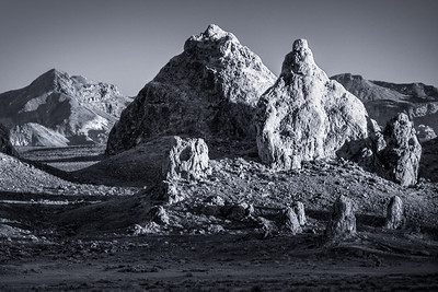 Trona Pinnacles - Mojave Desert Photo