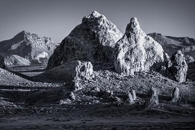 Trona Pinnacles - Mojave Desert Photo