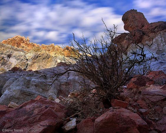 Time Passing Rainbow Canyon - Mojave Desert