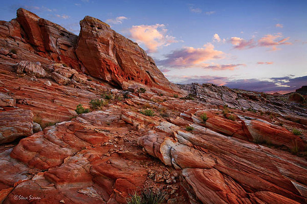 Striated Rock Valley of Fire State Park Nevada