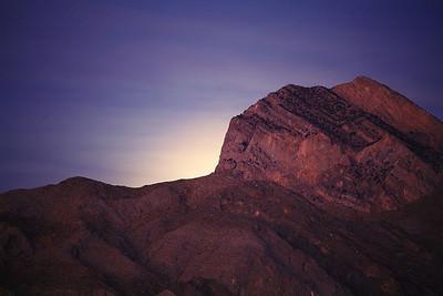 Unrisen Moon Mojave Nature Preserve