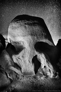 Skull Rock at Night - Joshua Tree National Park