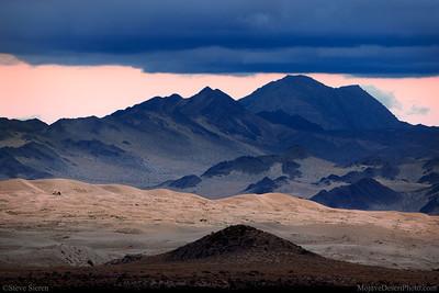 Kelso Dunes Mojave Nature Preserve Panorama