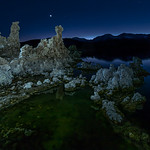Jupiter over Mono Lake