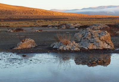 Sunrise, Mono Lake-Black Point