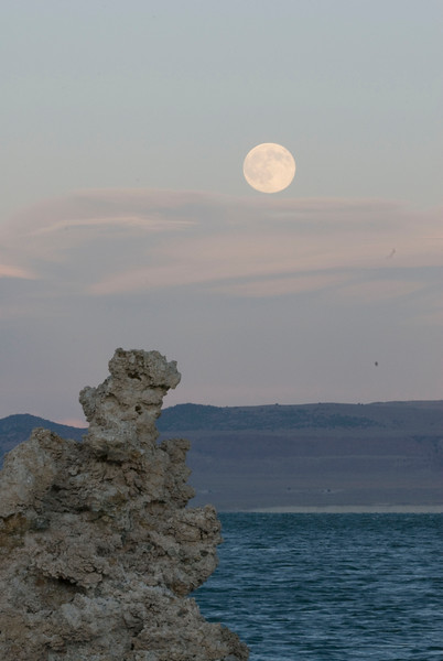 Full Moon Over Tufa
