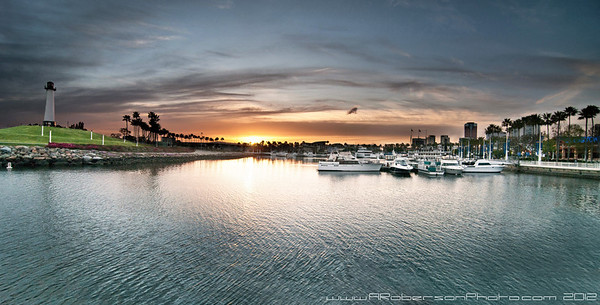 Long Beach Harbor Panoramic