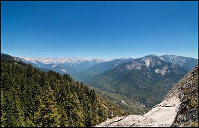 """Disappointment Peak"" (in the distance) seen from the top of Moro Rock, Sequoia Park."