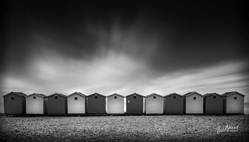 Beach Huts, Chesil Beach