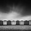 Beach Huts, Chesil Beach