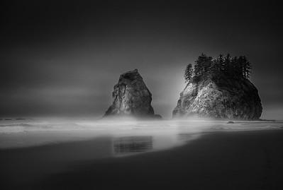 Second Beach, La Push, Washington, USA