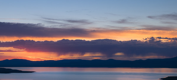 Monsoon Sunrise Over Mono Lake