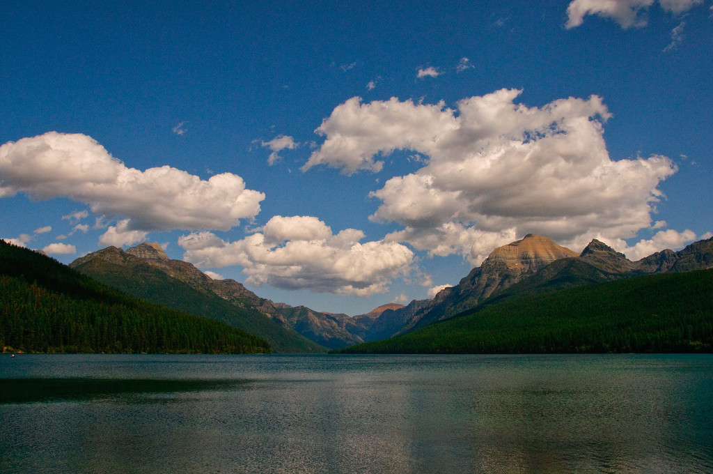 Bowman Lake: Pure and Simple