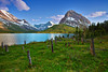Montana, Glacier National Park, Many Glaciers, Swiftcurrent Lake, Landscape, 蒙大拿, 冰川国家公园, 风景