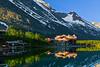Montana, Glacier National Park, Many Glaciers, Swiftcurrent Lake, Reflection, Landscape, 蒙大拿, 冰川国家公园, 风景