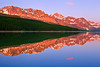 Montana, Glacier National Park, Many Glaciers, Lake Sherburne, Sunrise, Reflection, Landscape, 蒙大拿, 冰川国家公园, 风景