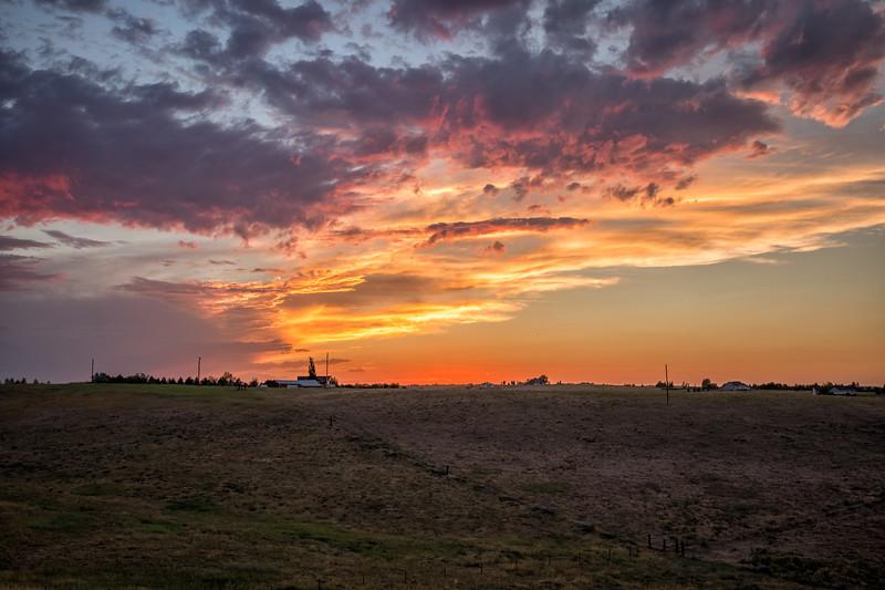 Sunset Fox Farm Road-2