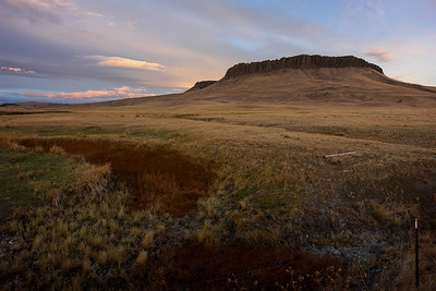 Crown Butte Sunset