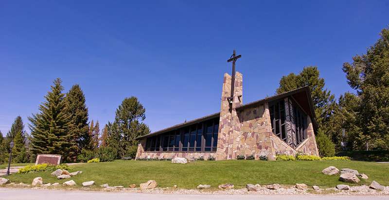 St. Timothy's, a small chapel above Philipsburg, Montana