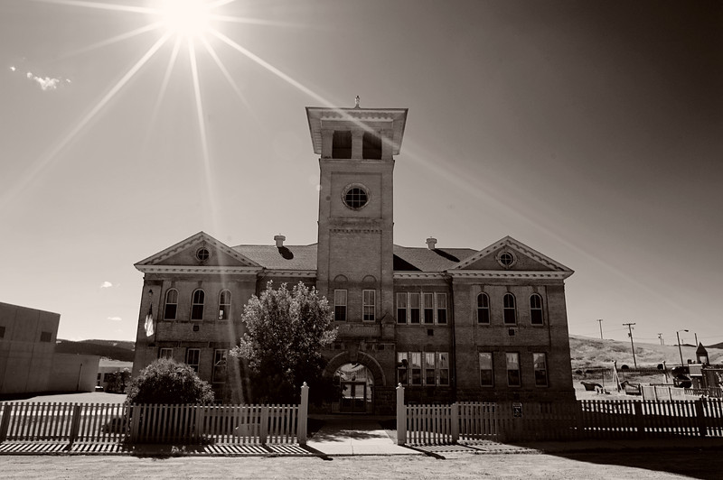 The Philipsburg, Montana Highschool