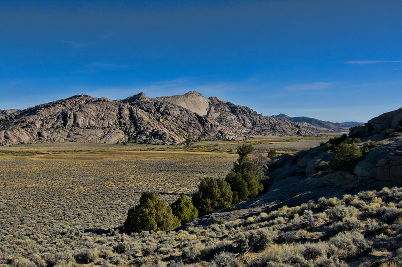 This is part of the Oregon Trail located in Eastern Wyoming.