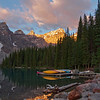 Early morning Moraine Lake...Banaff Canada