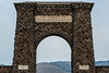 The Roosevelt Arch, Yellowstone National Park