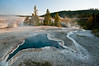 The Old Faithful Geyser Basin