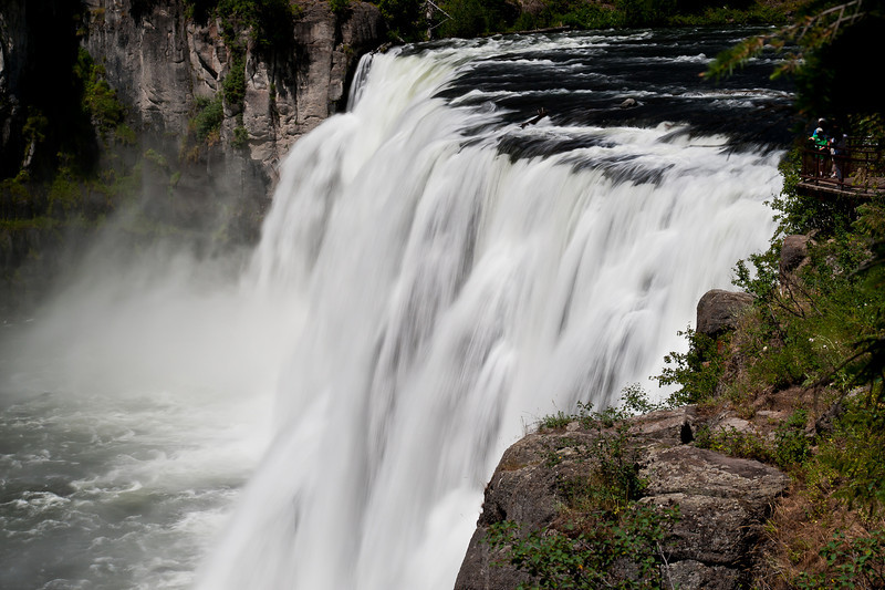 Upper Mesa Falls, Henry's Fork of the Snake River, Idaho