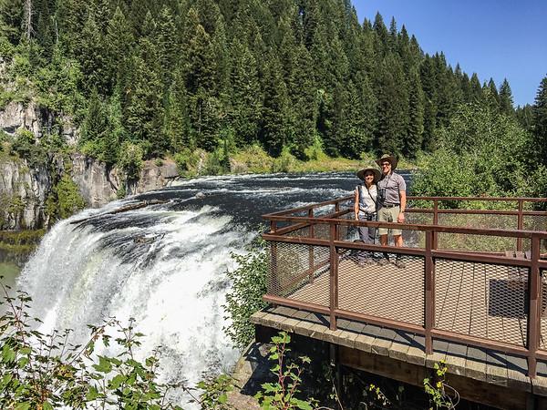 Bob and Kimi, Upper Mesa Falls Idaho