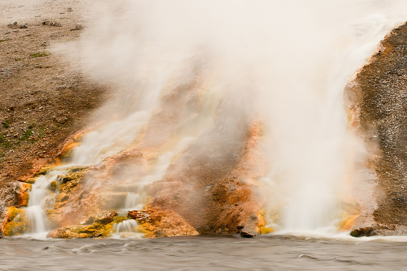 Firehole RIver at Biscuit Basin, Yellowstone National Park